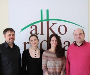Valerianas Kijėvičius, Beatričė Laurinkutė, Goda Juocevičiūtė ir Gerimantas Statinis | alkas.lt nuotr.