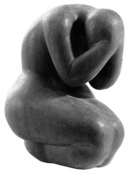 Skausmas | Adomo Stanislovo Raudžio-Samogits skulptūra