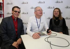Kristina Stalnionytė ir Rytas Šalna | Alkas.lt, A.Sartanavičiaus nuotr.