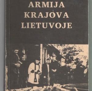 knyga Armija Krajova Lietuvoje