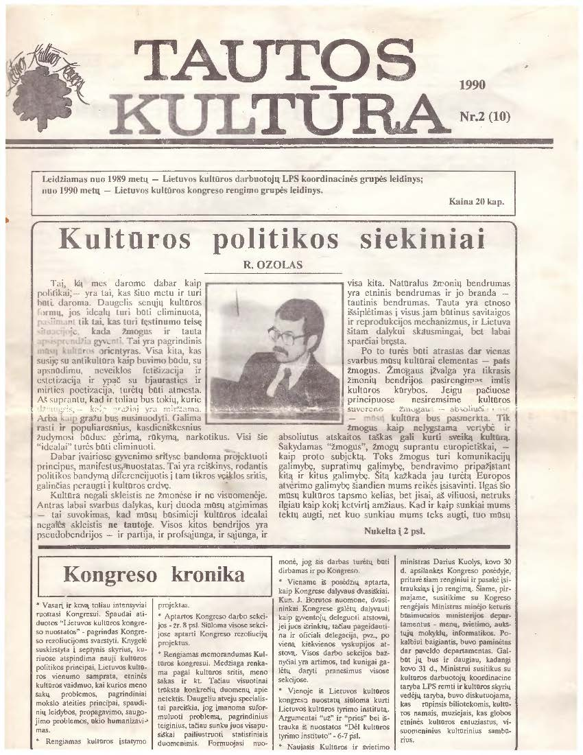 laikraštis
