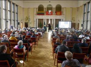 Algirdo Patacko mirties metinių minėjimas Kauno karininkų ramovėje | Lietuvos sąjūdžio Kauno tarybos nuotr.