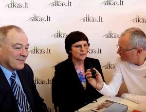 Sigitas Narbutas ir Daiva Narbutienė | Alkas.lt nuotr.