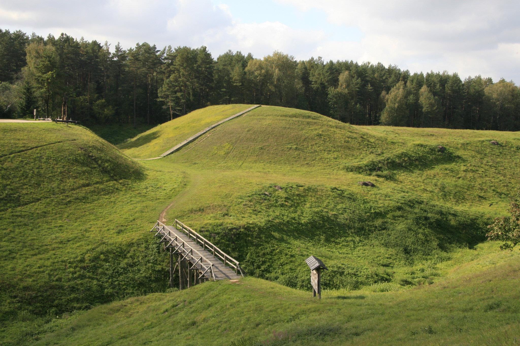 Šeimyniškėlių piliakalnis | baranausko.lt, A. Baranausko ir A. Vienuolio-Žukausko memorialinio muziejaus nuotr.