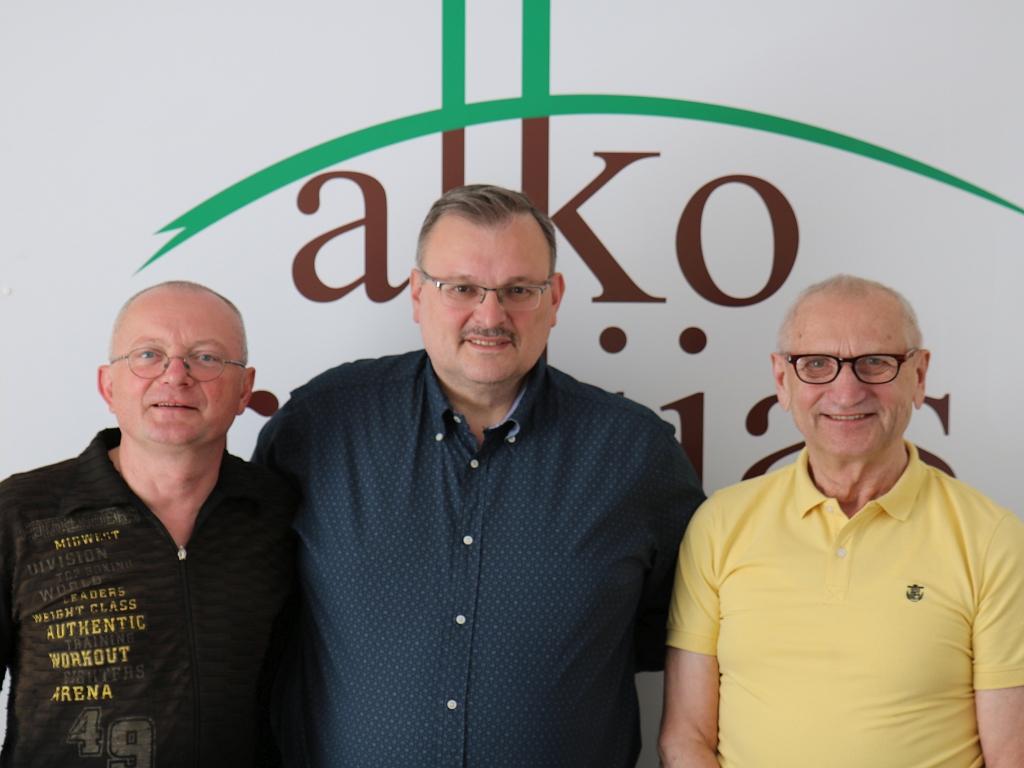 Audrys Antanaitis, Kęstutis Daukšys ir Juozas Zykus   alkas.lt nuotr.
