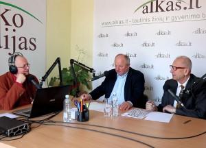 Audrys Antanaitis, Gintautas Mikolaitis ir Juozas Zykus   alkas.lt nuotr.