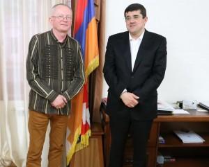 Audrys Antanaitis ir Arayik Harutyunyan | Alkas.lt, A.Sartanavičiaus nuotr.