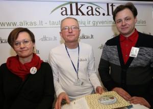 Audrys Antanaitis, Latvėnaitė-Kričenienė, Petras Kričena | Alkas.lt, A.Sartanavičiaus nuotr.