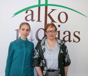 Evelina Parniavskaja, Aušra Maldeikiene | Alkas.lt, A.Sartanavičiaus nuotr.