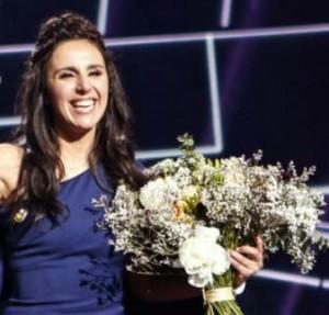 Jamala džiaugiasi pergale | eurovision.tv nuotr.