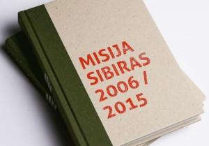 """""""Misija Sibiras"""" knygos viršelis"""