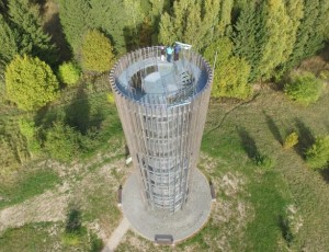Naujas apžvalgos bokštas Tytuvėnų regioniniame parke | VSTT nuotr.