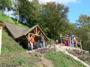 Papilės atodangoje šiuo metų vykdomi geologiniai tyrimai | VSTT nuotr.