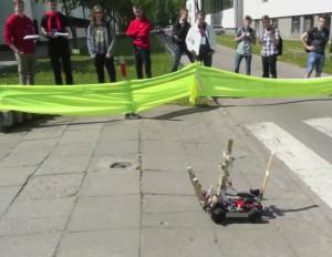 Robotų varžybos   mokslosriuba.lt nuotr.