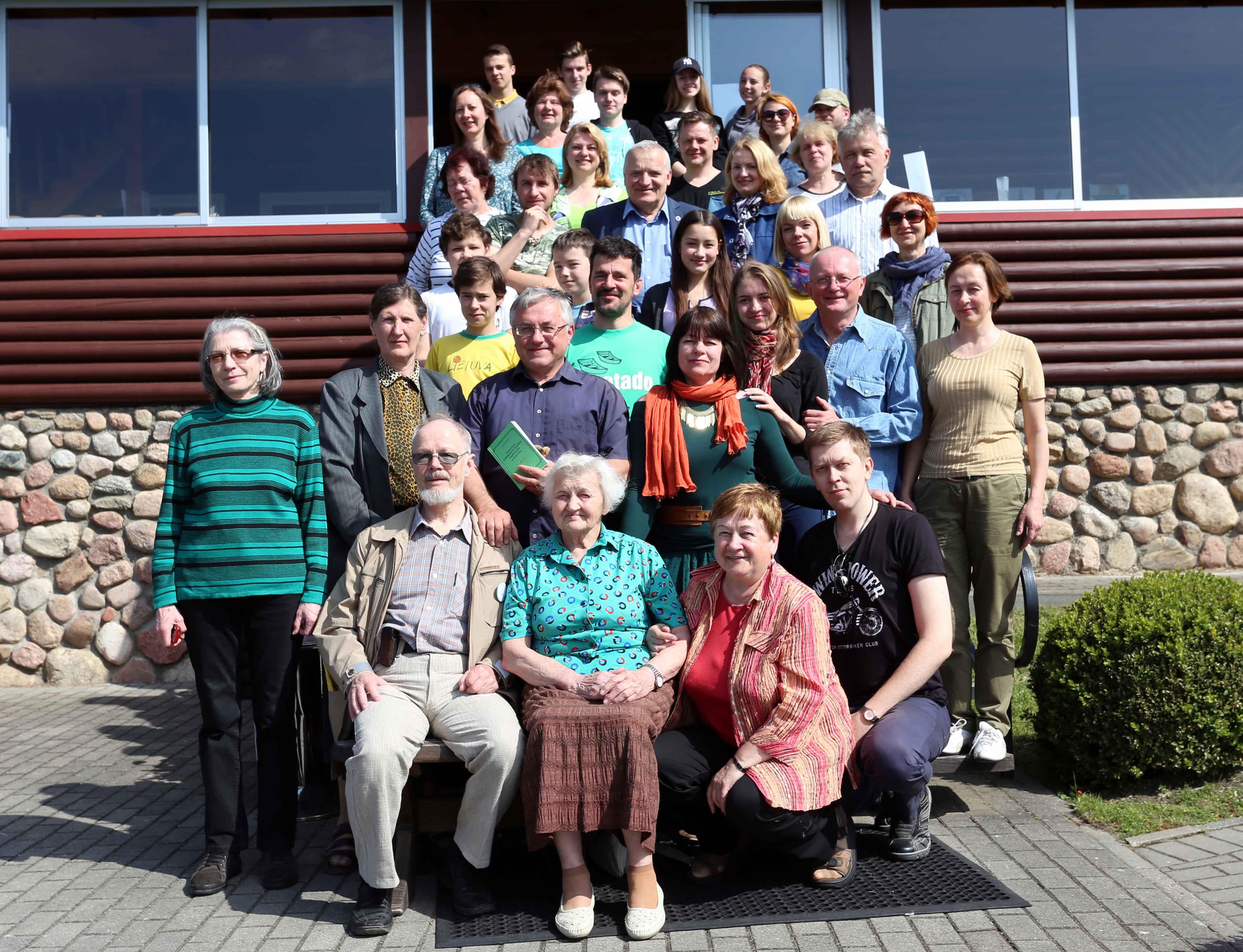 Žurnalistų esperantininkų seminaro dalyviai  | Alkas.lt, A. Sartanavičiaus nuotr.