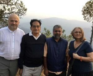 Romuvos delegacija lankosi Himalajuose   Alkas.lt, R. Balkutės nuotr.