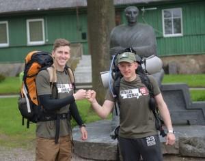 Lukas Kasnauskas ir Raimundas Ušackas | fm99.lt nuotr.