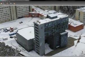 VGTU Saulėtekio miestelio skaitmeninio modelio prototipas | VGTU nuotr.