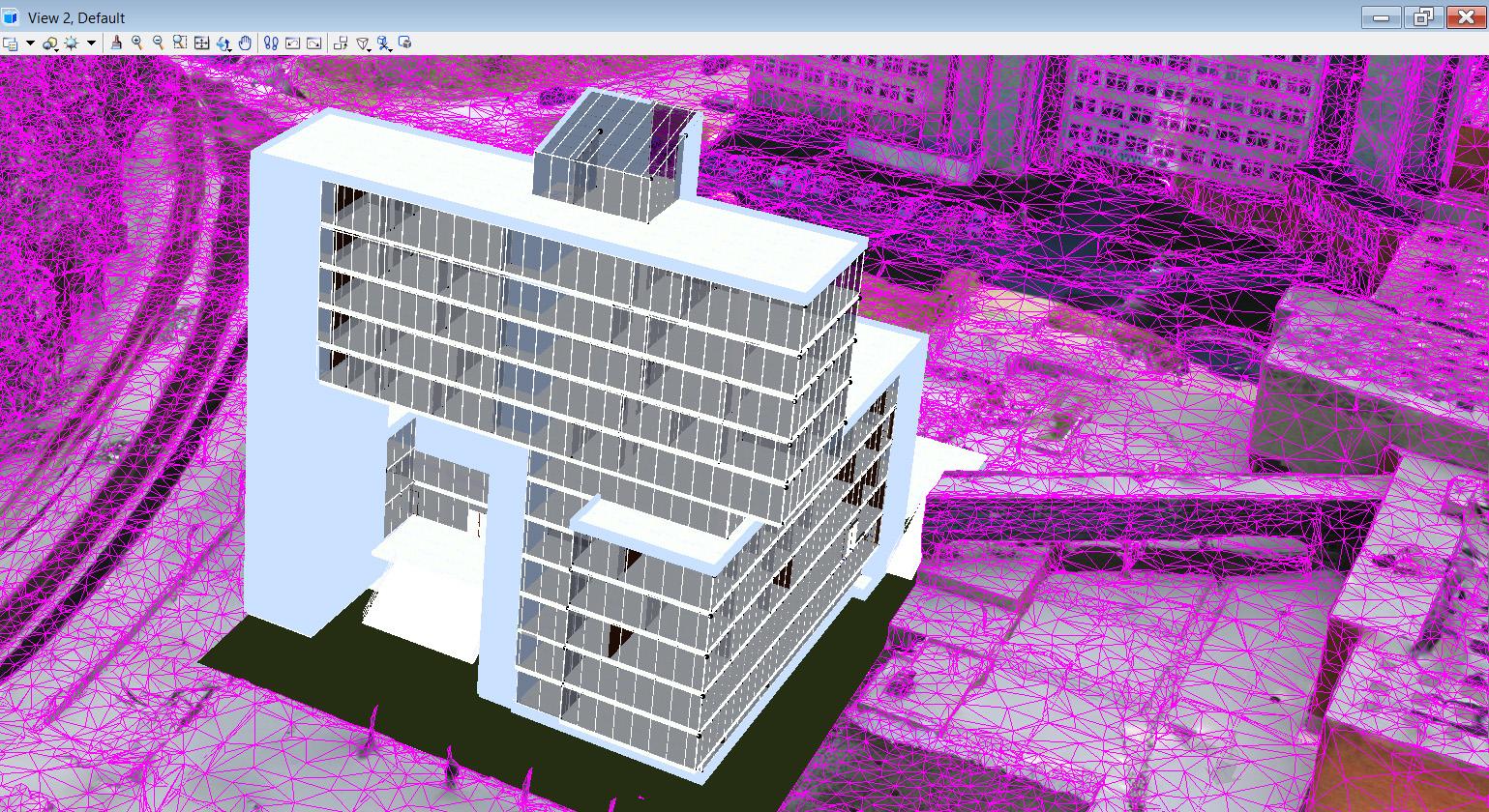 Modelį galima papildyti naujais statiniais | VGTU nuotr.