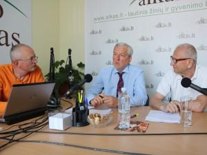 Audrys Antanaitis, Algimantas Akstinas ir Juozas Zykus | alkas.lt nuotr.