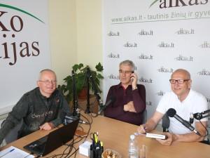 Audrys Antanaitis, Danukas Arlauskas ir Juozas Zykus | alkas.lt nuotr.