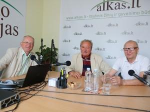 Audrys Antanaitis, Bronius Bradauskas ir Juozas Zykus | alkas.lt nuotr.