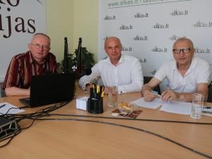 Audrys Antanaitis, Arminas Lydeka ir Juozas Zykus | alkas.lt nuotr.