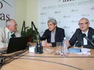 Audrys Antanaitis, Linas Naujokaitis ir Juozas Zykus | alkas.lt nuotr.