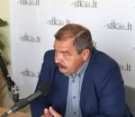 Artūras Černiauskas. Lietuvos profesinių sąjungų konfederacijos pirmininkas   alkas.lt nuotr.