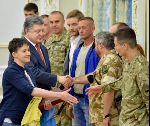 Ukrainos prezidentūros nuotr.