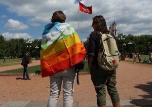 Seksualinių mažumų eitynės | Alkas.lt, A. Sartanavičiaus nuotr.