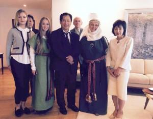 Japonijos ambasadoje susitikimas su Romuva