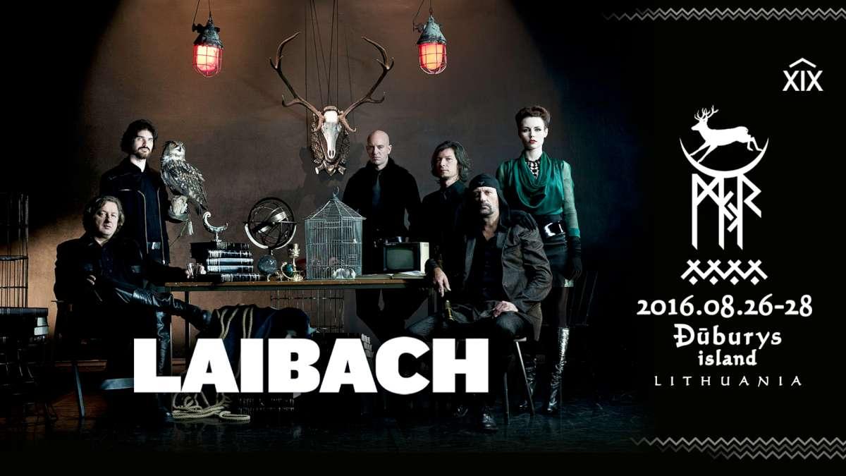 """Laibach"" | MJR-PRESS nuotr."