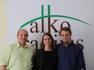 Gerimantas Statinis, Ieva Ivanauskaitė ir Martynas Vingrys | alkas.lt nuotr.