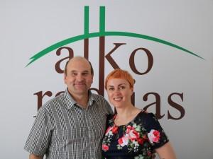 Gerimantas Statinis ir Jūratė Litvinaitė | alkas.lt nuotr.