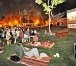"""Vasaros kino renginio """"Sidabrinės gervės"""" naktys   Šventės rengėjų nuotr."""