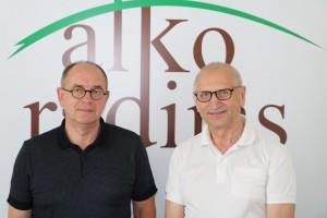 Henrikas Žukauskas ir Juozas Zykus | alkas.lt nuotr.