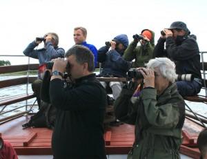 Norvegų ornitologai | bef.lt nuotr.