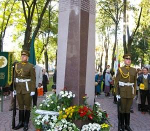 Paminklas tremtiniams Vilniuje | genocid.lt nuotr.