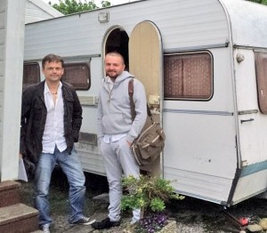 Stanislavas Stavickis (Stano) dešinėje | Asmeninė nuotr.
