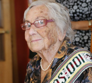 Šimtametė Antanina Gilienė | krs.lt nuotr.