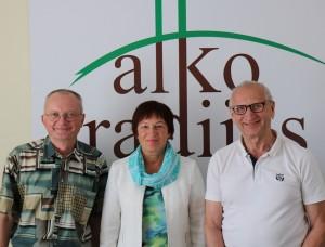 Audrys Antanaitis, Birutė Vėsaitė ir Juozas Zykus | alkas.lt nuotr.