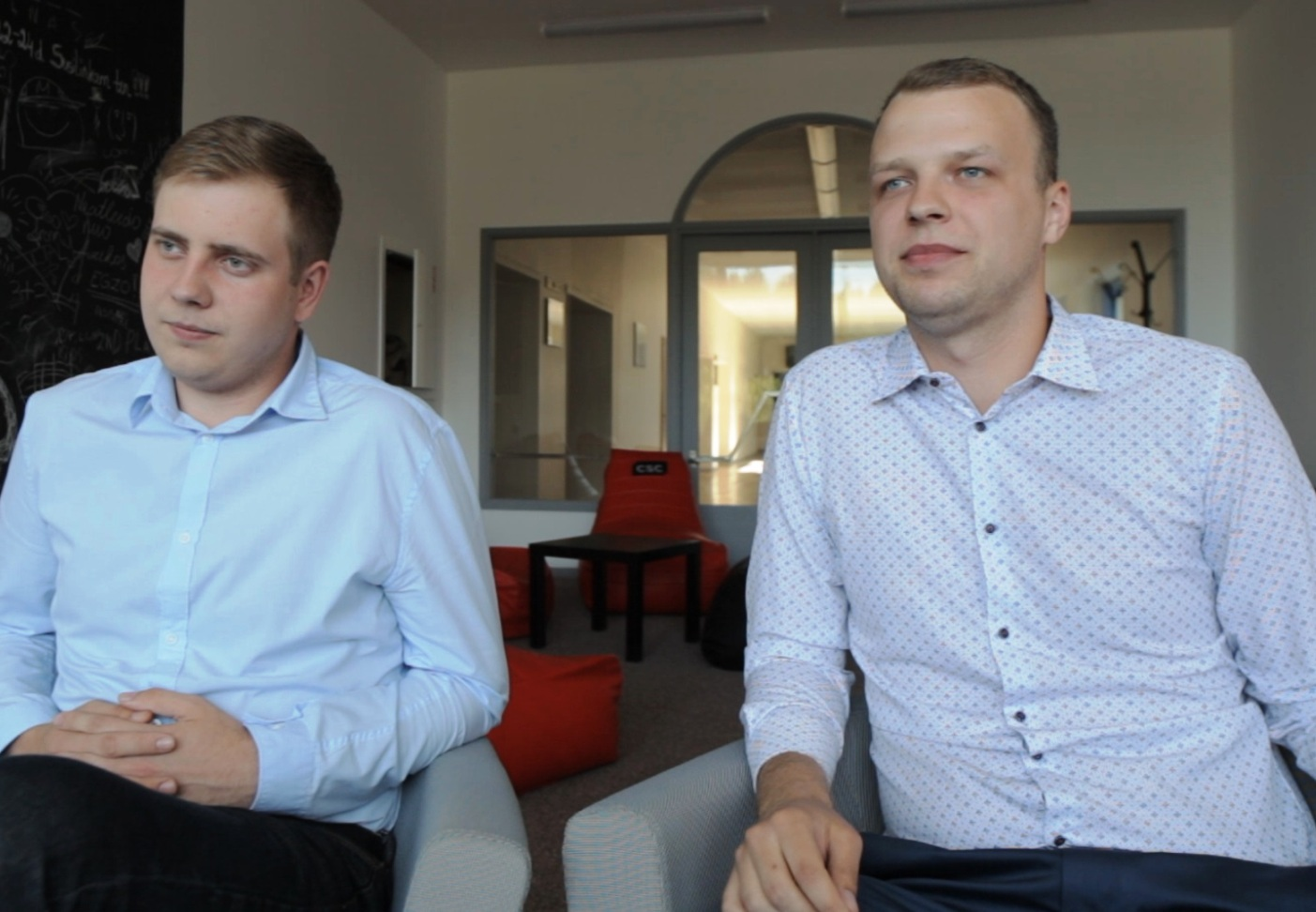Benas Garbincius ir Tadas Kaminskas