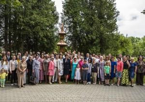 Pasaulio lietuvių koplytstulpio atidengimas Užulėnyje | Alkas.lt, A. Sartanavičiaus nuotr.