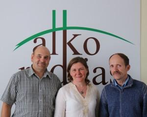 Gerimantas Statinis, Jurgita Bartkuvienė ir Vidmantas Lopeta | alkas.lt nuotr.