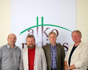 Gerimantas Statinis, Rimvydas Tamulaitis, Darius Ramančionis ir Linas Senkus | alkas.lt nuotr.