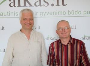Gitenis Umbrasas ir Audrys Antanaitis | alkas.lt nuotr.