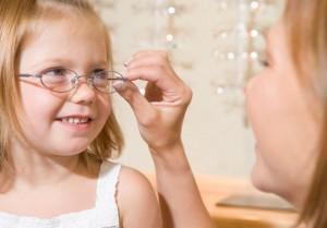 Vaikai akiniai