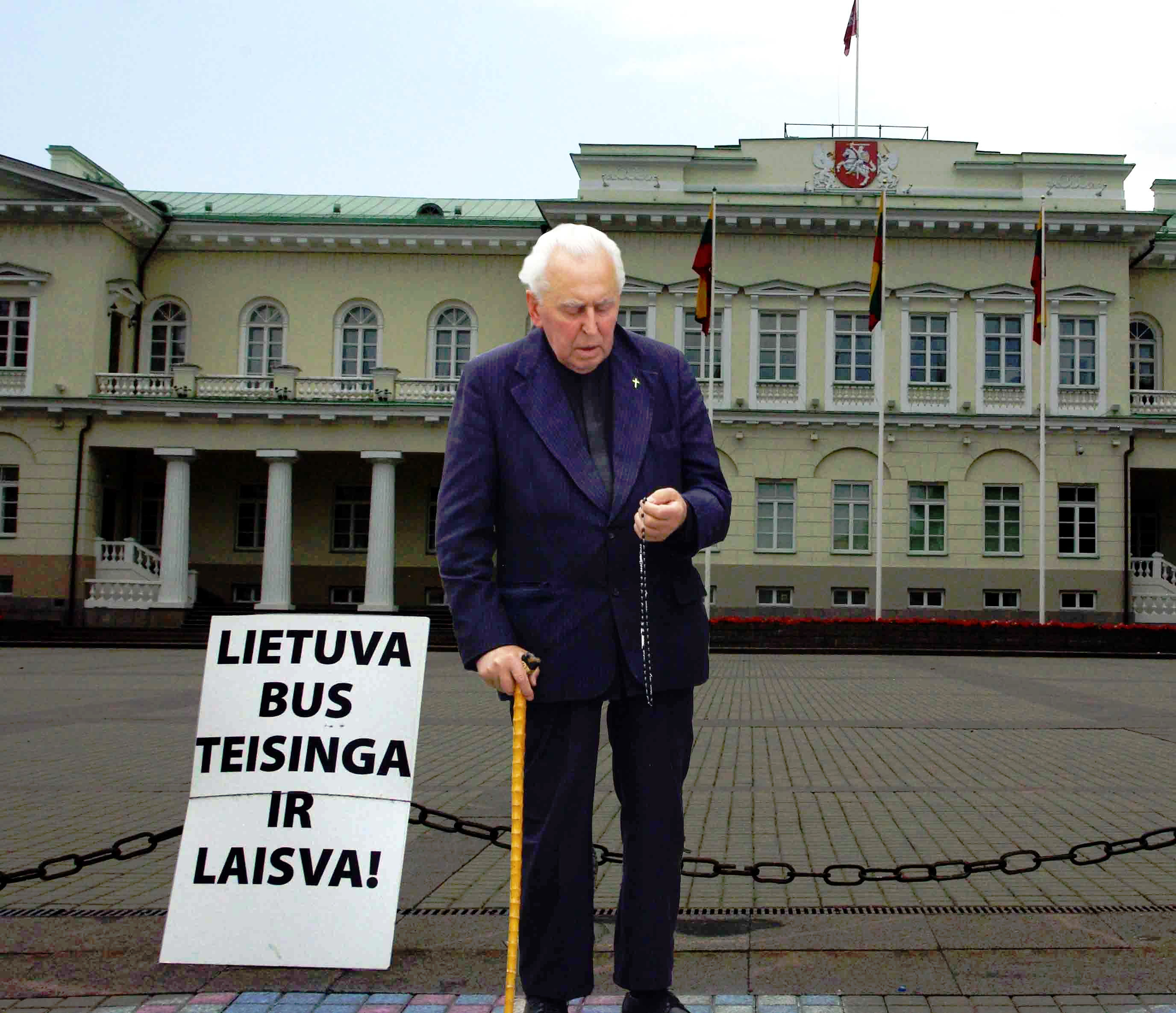 Alfonsas Svarinskas | Alkas.lt, J. Vaiškūno nuotr.