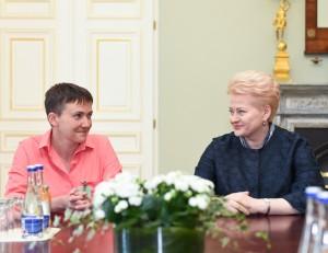 D. Grybauskaitė: Lietuva tvirtai remia Ukrainos žmones | lrp.lt, R. Dačkaus nuotr.
